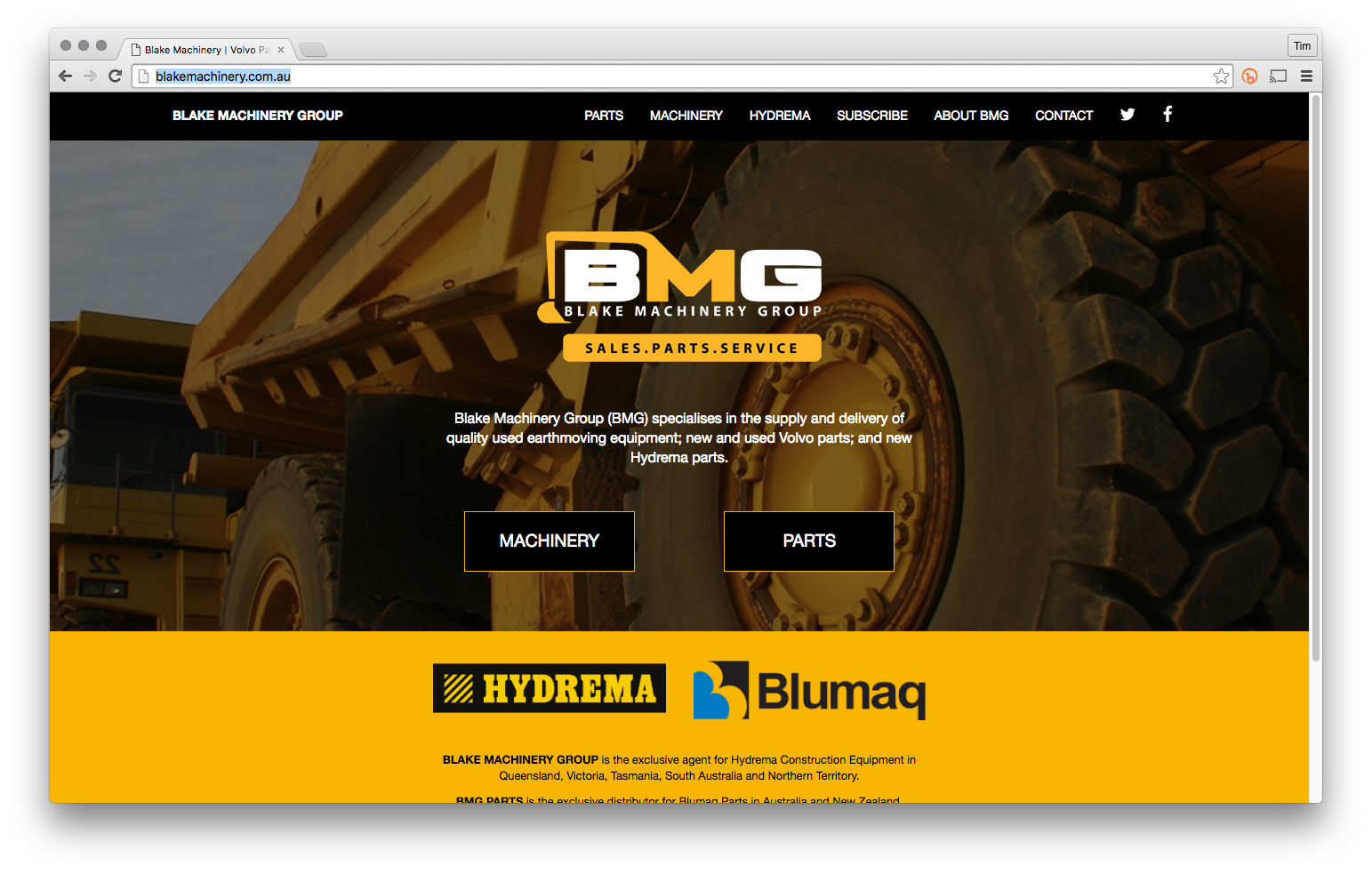 Blake Machinery Group